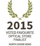 Lynn Valley Optometry: 2015 favourite optical store finalist
